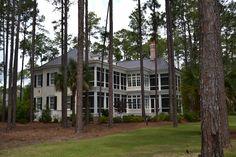 Porches at Palmetto Bluff Historical Concepts, Palmetto Bluff, Porches, Decorating Ideas, Mansions, House Styles, Plants, Home Decor, Front Porches