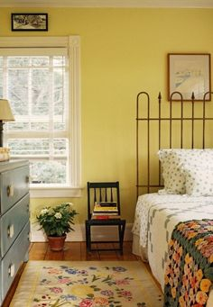 Interior designers agree yellow can be a draining color and many clients tend to be disappointed after using the color.