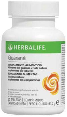 Tabletas de #Guarana #Herbalife Las tabletas de guaraná contienen cafeína procedente de la planta de guaraná para apoyar el estado de alerta y ayuda a reducir la sensación de fatiga mental.