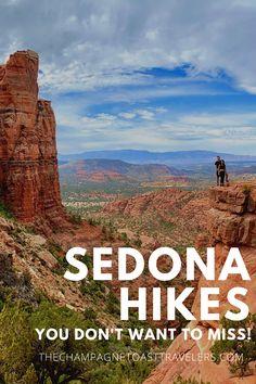Arizona Road Trip, Arizona Travel, Sedona Arizona, Sedona Hikes, Champagne Toast, Canyon Road, Lake Powell, Round Trip, Us Travel