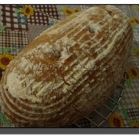 Kváskový chleba 1-2-3 s ovesnýma vločkama Banana Bread, Food And Drink, Desserts, Deserts, Dessert, Postres, Food Deserts