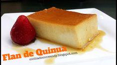 RECETA: FLAN DE QUINUA (DELICIOSA Y FÁCIL) - YouTube Snacks Saludables, Quinoa, Cheesecake, Baking, Desserts, Food, Peru, Capes, Puddings
