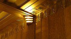 Art Déco - Chanin Building - 56 étages - Applique Lumineuse