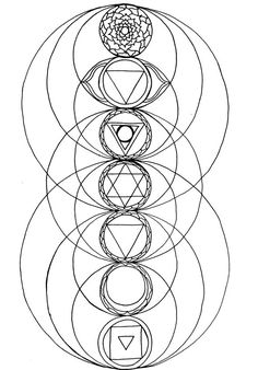 chakra symbols coloring pages - photo#2