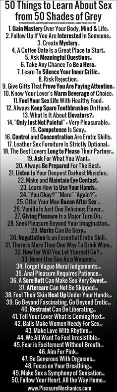 Life lessons from 50 shades. - Very interesting!  ;)