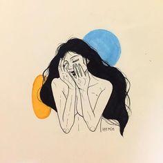 Instagram kullanıcısı Nada yaptığı siyah beyaz çizimler ile bir kadının hüzünlü dünyasına ışık tutuyor. Özellikle çizimlerini dövmelere dönüştüren çizer ve dövmeci kedileri ve çiçek dünyasını bolca kullanıyor. Tema olarak bir kadının aşka bakışı ya da hayatındaki hüzünlü anları kabus çizgisinde derinlemesine inceleyen instagram kullanıcısı nada_tattoo fantastik illüstrasyonlar üretiyor. Tarot kartlarının üzerine çizilebilecek cinsten çizimler üreten sanatçı illüstrasyonlarını dövmelere…
