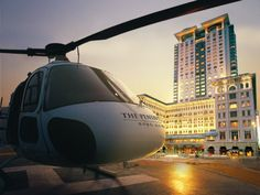 Business Hotel Amenities That Will Make You Feel Like a CEO (Including, Yes, Helicopter Pick-up)