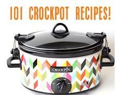 101 Crockpot Recipes from TheFrugalGirls.com