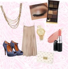 """Pastel Night Out"" by fiorini-ini on Polyvore"