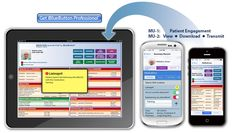iBlueButton Professional lets you receive on your iPad up to date medical history transmitted by your patients' iBlueButton app