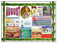 DepEd Monthly Celebrations from June to March. Produce tarpaulins using these images. Use them as bulletin displays. August Bulletin Boards, Elementary Bulletin Boards, Teacher Bulletin Boards, Bulletin Board Borders, Bulletin Board Display, Classroom Charts, Owl Classroom, Classroom Signs, Classroom Decor
