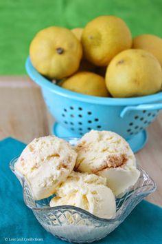 Love and Confections: Lemon Meringue Pie Ice Cream #IceCreamWeek