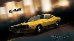 There's only one place to be in this Challenging beauty - in the Driver's Seat ; All Video Games, Video Game News, Jeep Dodge, Chevy, My Dream Car, Dream Cars, Challenger Rt, San Francisco, Dodge Chrysler