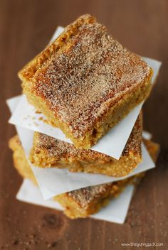 Brown Butter Snickerdoodle Bars