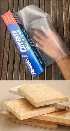 Why this insanely cool DIY using wax paper will give you goosebumps! Why this insanely cool DIY using wax paper will give you goosebumps!,DIY You will be SO happy to discover this awesome technique,. Diy Projects To Try, Crafts To Make, Wood Projects, Fun Crafts, Arts And Crafts, Wax Paper Crafts, Dremel Tool Projects, Decor Crafts, Tile Crafts