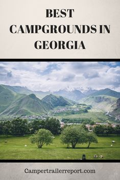 Best Campgrounds in Georgia (You Should See) Camping Places, Camping World, Camping Tips, Camping Essentials, Family Camping, Family Travel, Vacation Trips, Vacation Spots, Vacations