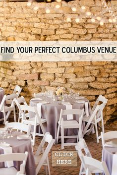Looking for a Venue for your Wedding, Rehearsal Dinner, Shower, holiday Party, fundraiser, etc.? Look no further. Review this list of Columbus, Ohio Venues. We'll put you in the right spot, and take care of your Catering for the event. Made From Scratch is a full service caterer, so we can handle tables, chairs, linen, dessert, entertainment, decor, lighting--anything you need. Looking forward to helping you find your perfect Venue! http://www.made-from-scratch.com/facilities | 614.873.3344