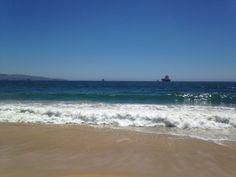 Borde costero Viñadelmar Beach, Water, Outdoor, Seaside, Landscaping, Gripe Water, Outdoors, Outdoor Games, Aqua