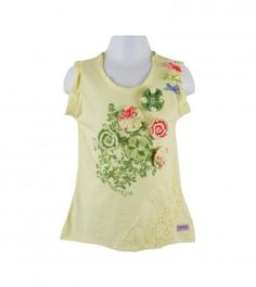3D sleeveless top {Spring 1} Naartjie! Love the matching tops too.