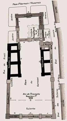 Constructions successives du Louvre
