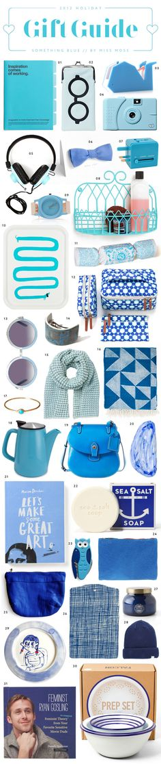 Holiday Gift Guide: Something Blue