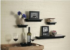 Threshold Floating Shelves Fascinating Traditional Shelf Set 5Pc  Brown  Threshold™  Wall Ideas Design Ideas