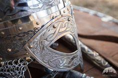 DISCOUNTED PRICE Men's Combat Helmet Viking Helmet  by armstreet