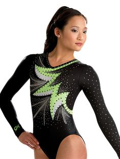 Bold Burst Comp Gymnastics Leotard from GK Elite.....looks like our leos @adrienneschei98