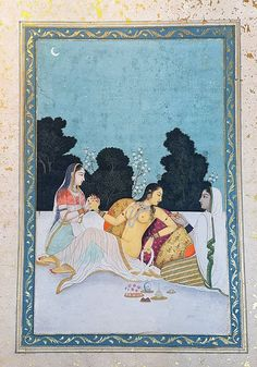 The Pains of Love, Mughal c1740