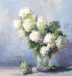 "Saatchi Art Artist Christina Dowdy; Painting, ""Fresh Whites"" #art"