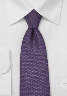 Grape Colored Tie with Grenadine Texture $10