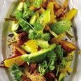 Avocado, Orange and carrot salad