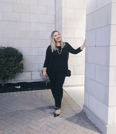 Blogger Rebecca looking pretty in our Instant smooth pants. #loverickis #rickisfashion #fall #fall2017 #fallfashion #rickisinreallife #instantsmooth #pants Lifestyle Blog, Real Life, Autumn Fashion, Smooth, Normcore, Fall, Pretty, Pants, Shopping
