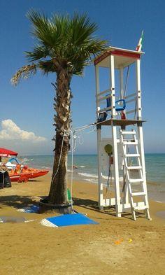 Tre Fontane beach