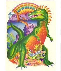 Happy Friday! Check out this awesome original Lisa Frank art!! #LisaFrank
