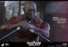 1/6 Hot Toys Guardians of the Galaxy - DRAX THE DESTROYER -