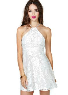 robe en crochet à motif floral