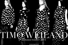 The Timo Weiland Autumn/Winter 2014 womenswear show.