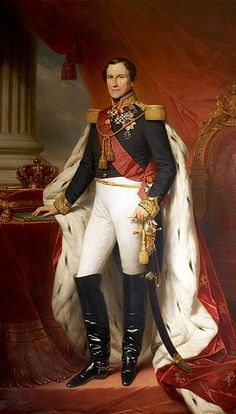 Leopold I.Belgium by Nicaise De Keyser Military Divisions, King Leopold, High Middle Ages, Merchant Navy, House Of Windsor, Historical Art, Victoria, Zoology, Princess Charlotte