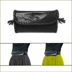 Pochette en cuir pour ceinture FEMME - Etui lunettes, étui téléphone  portable cuir noir 1479e264e3a