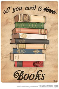 All you need is Books!