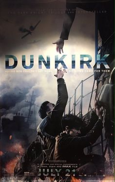 """The Dunkirk preview was on twice while I was in the room and with both times that it played I miSSED IT!! I was so upset because all that I saw/heard of it was at the end when it said """"playing in theaters everywhere on July 21st"""". Currently still waiting for the time that it's on and I DON'T miss when it's on!"""