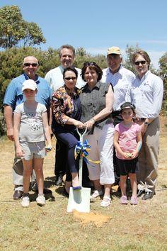 St Kilda Playground Birthday Celebration Time Capsule burial ceremony. #stkildaplayground @cityofsalisbury 11/11/12