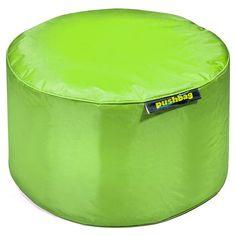 #Sitzsack von Pushbag - Drum: Lime