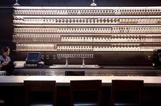 24 taps Beer Tower, Sky Bar, Bar Lounge, Beer Bar, Taps, Cellar, Restaurant Design, Craft Beer, Cabinets