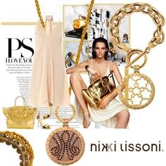 Gold accessories go great with an all-gold Nikki Lissoni combination! -xx-