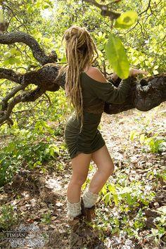 WASABI DRESS SWEATER - Organic Long sleeve Boho Bohemian Hippie Urban Yoga Pixie Faery Fairy Burning man - Green