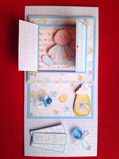 Open the Door! New Baby Boy Card in Card Gallery