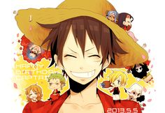 Straw Hat Pirates/#1717428 - Zerochan