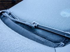 How to Defrost Your Car Windshield in Less Than a Minute | Some mornings we could use this too.